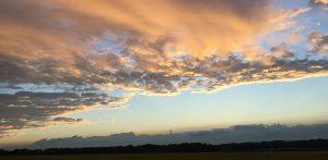 Der Himmel über der Altmark